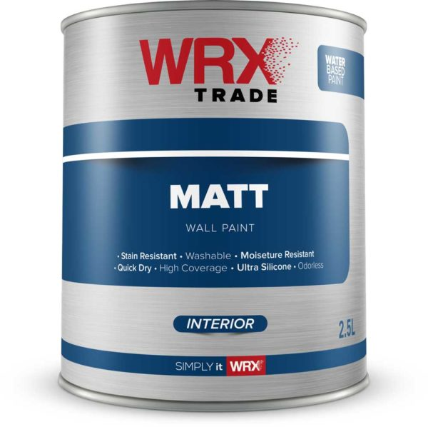 WRX Trade Matt Interior Wall Paint